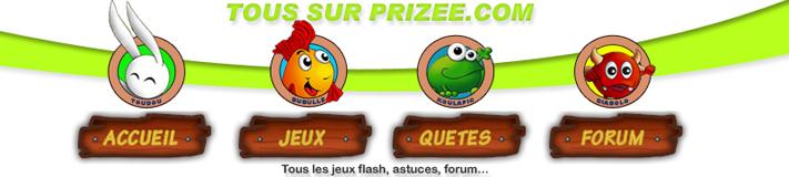 TOUSSURPRIZEE.COM - jeux flash gratuits prizee - cadeaux - astuces - Index du Forum
